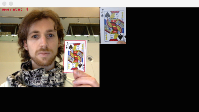 Object pose tracking in OpenFrameworks.